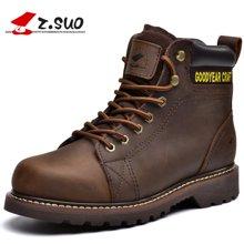 Z.Suo/走索男鞋马丁靴男英伦靴子潮流工装靴军靴男短靴休闲鞋潮 ZSGTY16008