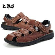 Z.Suo/走索大码男鞋透气鞋男士休闲鞋凉鞋男夏潮流沙滩鞋凉拖男 ZS802