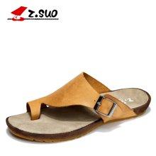 Z.Suo/走索半拖鞋男士凉鞋休闲鞋男透气英伦个性凉拖鞋男 ZS8396
