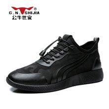 公牛世家男鞋运动鞋百搭潮流休闲潮鞋男士韩版跑步鞋 888430