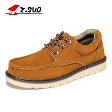 Z.Suo/走索英伦休闲鞋大码板鞋男大头鞋低帮工装鞋男鞋子 ZS6156