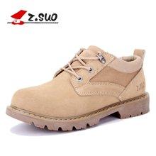 Z.Suo/走索男鞋休闲鞋大码工装鞋男鞋子大头鞋男英伦复古潮鞋男 ZS159