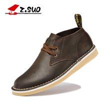 Z.Suo/走索英伦风日常休闲鞋男工装鞋单鞋男皮鞋大码鞋子男潮男鞋 ZS060