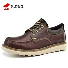 Z.Suo/走索男鞋工装鞋男士休闲鞋潮流低帮鞋男英伦潮鞋系带 ZS16208