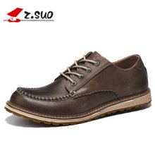 Z.Suo/走索男鞋时尚男士休闲鞋男工装鞋休闲皮鞋英伦低帮鞋潮鞋 ZS16012