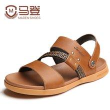 马登凉鞋夏季凉鞋男式沙滩鞋韩版休闲两用凉拖鞋男士凉鞋男 1404007