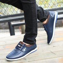 牧惠森新款男士拼接系带男鞋韩版时尚潮流休闲板鞋百搭男鞋  3315