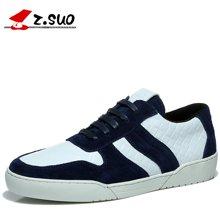 Z.Suo/走索男鞋休閑皮鞋男系帶低幫鞋男士休閑鞋戶外鞋板鞋 ZS7903