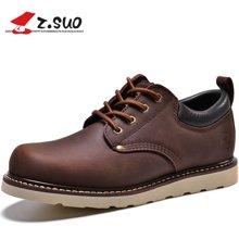 Z.Suo/走索男鞋工装鞋男时尚大头鞋户外鞋休闲皮鞋男潮流低帮鞋 ZSGTY16006
