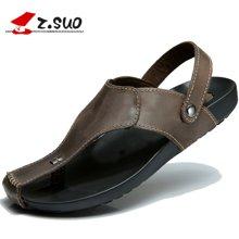 Z.Suo/走索男鞋男士涼拖鞋夏季沙灘鞋涼鞋涼拖羅馬拖鞋 ZS18920