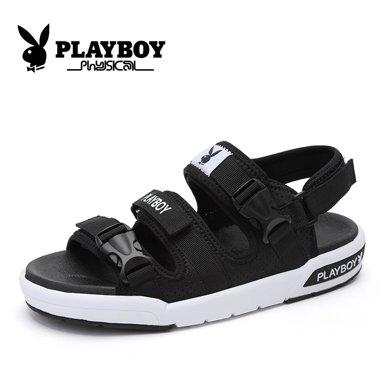 花花公子男鞋夏季凉鞋男士户外沙滩鞋男透气运动休闲鞋韩版鞋子男CX39285
