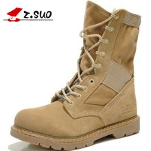 Z.Suo/走索男鞋潮流男靴子特种兵沙漠靴英伦工装靴男士军靴战靴 ZS988
