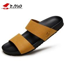 Z.Suo/走索男鞋羅馬拖鞋男夏季男士拖鞋涼鞋男涼拖一字拖鞋男潮 ZS16516