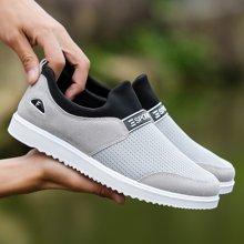 植木直潮流运动休闲鞋透气网鞋板鞋跑步鞋160750