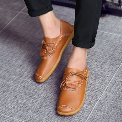 ?#34892;?#30382;鞋英伦商务休闲皮鞋潮鞋子?#34892;菹行琱9958