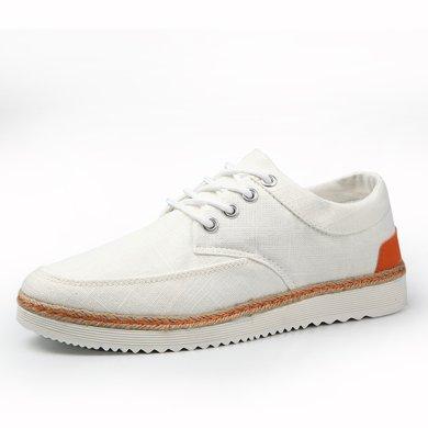 西瑞休閑鞋男潮流系帶帆布鞋板鞋MF616
