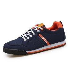 卡帝乐鳄鱼男鞋网鞋男士休闲鞋子板鞋运动鞋男跑步鞋KDL617