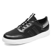 西瑞透气冲孔休闲鞋系带潮鞋小白鞋白色板鞋MF-F8802