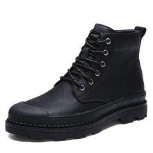 西瑞新款馬丁靴高幫休閑男靴防水加毛不加毛男靴DK1798