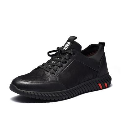富贵鸟男鞋休闲鞋韩版时尚青年潮流运动跑步鞋子 A801057