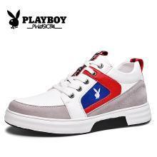 花花公子男鞋新款男士运动鞋韩版百搭板鞋透气潮流鞋子男内增高男鞋CX39523