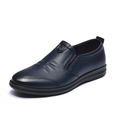 富贵鸟休闲鞋男士套脚休闲鞋皮鞋男鞋子 A893119