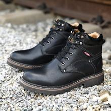德國駱駝動感秋冬季新款高幫鞋加絨保暖英倫風潮流短靴工裝靴馬丁靴男 18229