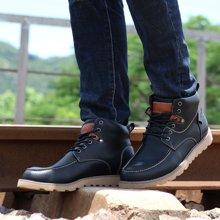 西瑞新款馬丁靴硬漢高幫工裝靴防水加毛不加毛男靴DK8002
