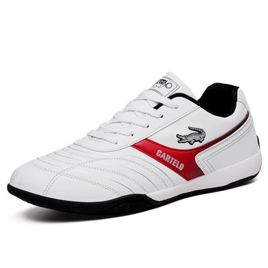 卡帝乐鳄鱼新款春季男士休闲运动鞋男鞋小白板鞋跑步鞋子男潮KDL808