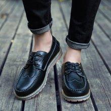 西瑞新款潮流布洛克休閑鞋男板鞋韓版簡約時尚風男鞋DK6252