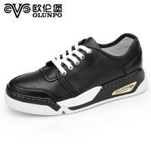 Olunpo/歐倫堡春季新款時尚潮流運動鞋男 輕質透氣戶外休閑鞋CHT1602
