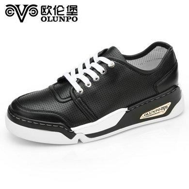 Olunpo/?#20223;妆?#26149;季新款时尚潮流运动鞋男 轻质?#38041;?#25143;外休?#34892;珻HT1602