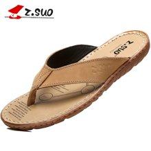 Z.Suo/走索男鞋大碼人字拖男士拖鞋男夏季沙灘鞋涼鞋休閑鞋 ZS618N