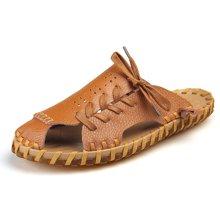 西瑞夏季新款拖鞋男时尚户外沙滩凉鞋包头半拖DK81011
