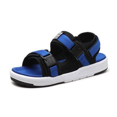 花花公子男鞋2018夏季新款男士凉鞋男韩版运动休闲沙滩鞋男潮鞋子W39600