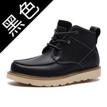 秋季新款时尚马丁靴?#34892;?#38386;工装鞋?#34892;?#23376;12601-k