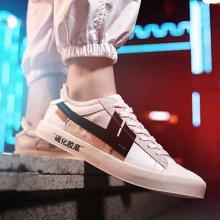 新款小白鞋男鞋青年文藝板鞋潮流韓版百搭男士休閑鞋潮鞋JPCK011