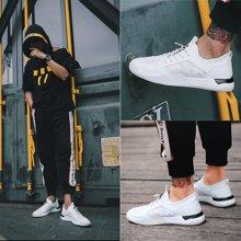 Simier男士透气休闲鞋百搭小白鞋板鞋X1861