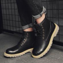 西瑞新款高幫休閑鞋男時尚百搭工裝靴潮流馬丁靴DK5602