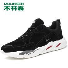 木林森男鞋秋季帆布鞋韩版潮流百搭潮鞋子休闲运动透气板鞋 Q280030