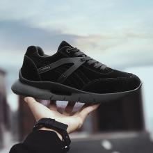 潮牌板鞋?#34892;?#38386;鞋韩版潮流低帮鞋新款厚底男鞋跑步运动鞋YJ8092