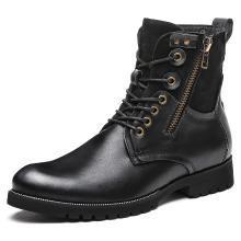 公牛世家馬丁靴男士高幫鞋牛皮靴子加絨棉鞋短靴騎士靴潮流復古男靴 888601