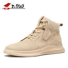 Z.Suo/走索男鞋新款内增高潮流高帮鞋男士运动休闲鞋子男潮鞋百搭 ZS666