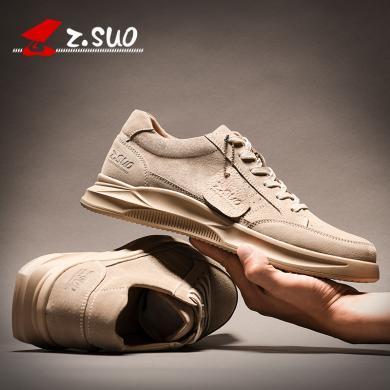Z.Suo/走索男鞋2019新款春季男士韩版休闲鞋潮鞋子男运动鞋潮流百搭板鞋 ZS555