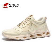 Z.Suo/走索男鞋2019新款运动鞋增高休闲鞋男网面透气百搭韩版轻跑鞋 ZS727