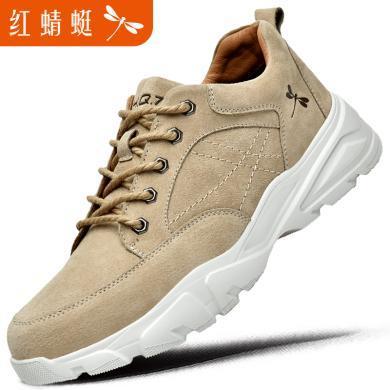 红蜻蜓男鞋潮鞋男士休闲鞋纯色运动鞋子191168