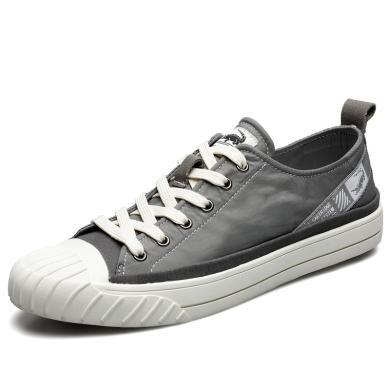卡帝樂鱷魚男鞋透氣薄款板鞋男韓版2019新款百搭貝殼頭休閑鞋KDL5202