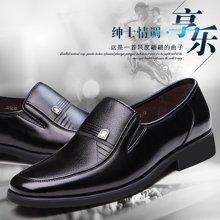俊斯特 新款经典男士商务正装皮鞋单鞋时尚男鞋子