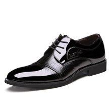 俊斯特夏季爆款男士商务系带皮鞋男鞋镂空鞋洞洞鞋子