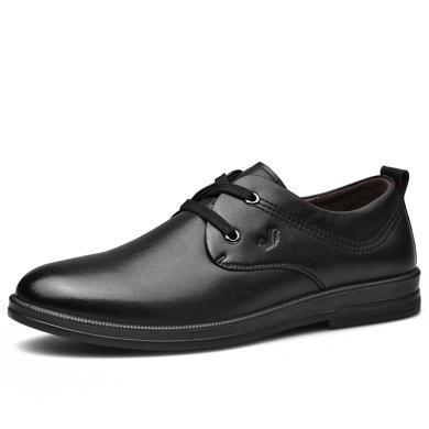 富貴鳥男鞋男士青年商務休閑皮鞋男英倫韓版新款休閑鞋潮鞋子